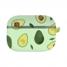 Силиконовый чехол Softmag Case Зеленый авокадо для AirPods Pro