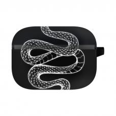 Силиконовый чехол Softmag Case Змея для AirPods Pro