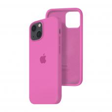 Силиконовый чехол c закрытым низом Apple Silicone Case для iPhone 13 Dragon Fruit