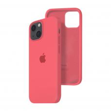 Силиконовый чехол c закрытым низом Apple Silicone Case для iPhone 13 Pink Citrus