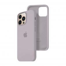 Силиконовый чехол c закрытым низом Apple Silicone Case для iPhone 13 Pro Lavender