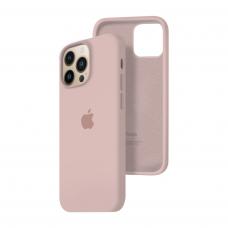 Силиконовый чехол c закрытым низом Apple Silicone Case для iPhone 13 Pro Pink Sand
