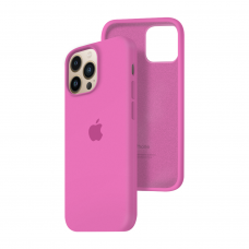 Силиконовый чехол c закрытым низом Apple Silicone Case для iPhone 13 Pro Dragon Fruit