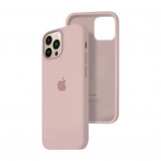 Силиконовый чехол c закрытым низом Apple Silicone Case для iPhone 13 Pro Max Pink Sand