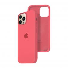Силиконовый чехол c закрытым низом Apple Silicone Case для iPhone 13 Pro Max Pink Citrus