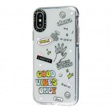 Чехол для iPhone X / Xs Tify good vibes only