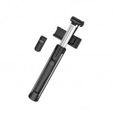 Штатив монопод для селфи Bluetooth Hoco K10A Magnificent 1.1m черный