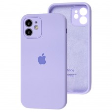 Чехол для iPhone 12 Silicone Slim Full camera dasheen