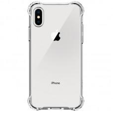 Чехол противоударный WXD для iPhone X / Xs силиконовый прозрачный
