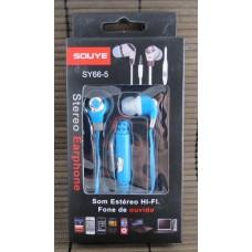 Наушники Soyue SY66-5 Blue +Mic