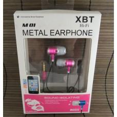 Наушники XBT M-01 Pink