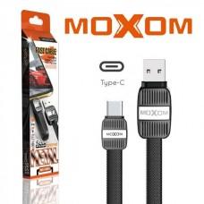 Кабель USB Moxom MX-CB04 Type-C 2.4A черный