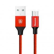Кабель USB Baseus Yiven microUSB 2A 1m красный