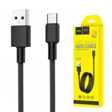 Кабель USB Hoco X29 Superior Type-C 3A 1m черный