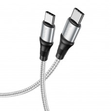 Кабель USB Hoco X50 Type-C to Type-C 100W Excellent 2m серый