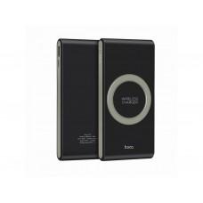 Внешний аккумулятор PowerBank Hoco B32 8000 mAh с беспроводной зарядкой black