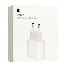 Сетевой адаптер для Apple 18W USB-C Power (MU7V2ZM/A) белый