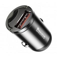 Автомобильное ЗУ адаптер Baseus Tiny Star mini 30W USB серый