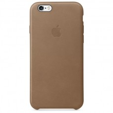 Apple Leather Case Brown (MKXR2) для iPhone 6 6s (копия)