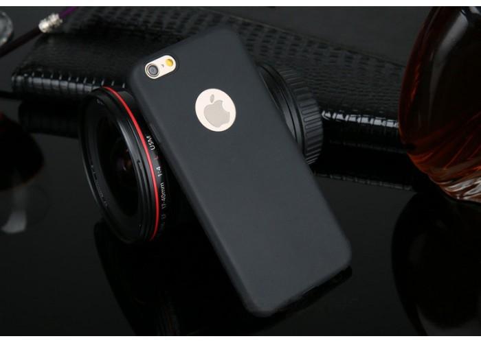 Силиконовый чехол для  iPhone 6/6S (черный)