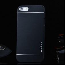Ультратонкий алюминиевый бампер для iPhone 5/5S с черной панелью