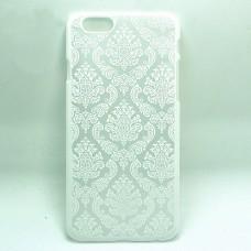 Пластиковый чехол для iPhone 6/6S с цветочным орнаментом