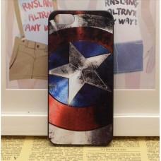"""Пластиковый чехол для iPhone 5/5S """"Капитан Америка"""""""
