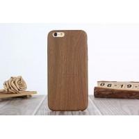 """Силиконовый чехол для iPhone 6/6S в дизайне """"Дерево"""" (коричневый)"""