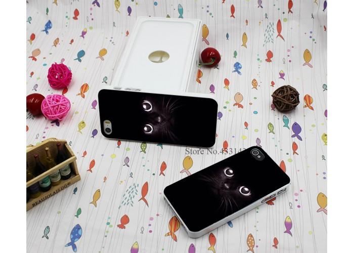 """Чехол для iPhone 5/5s """"Черная кошка"""""""
