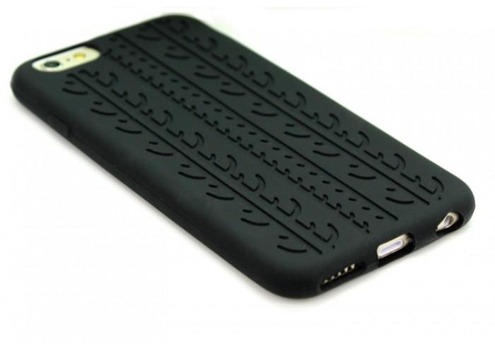 """Силиконовый чехол для  iPhone 5/5S """"Автошина"""""""