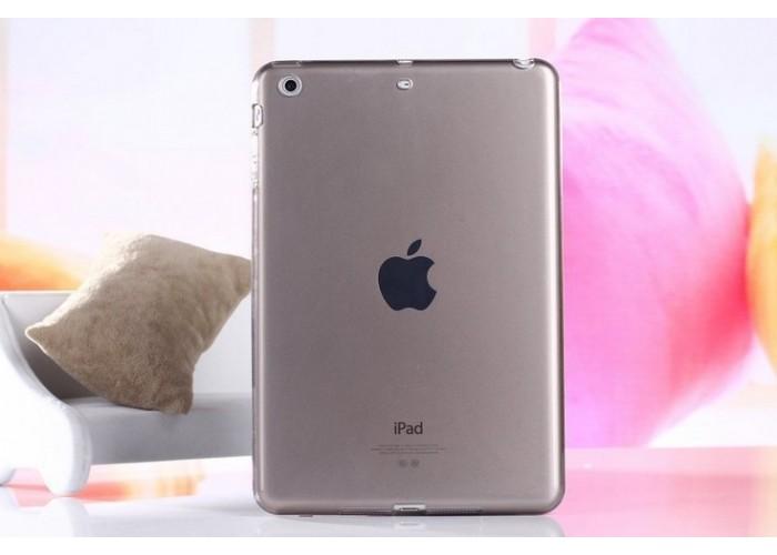 Прозрачный чехол для iPad mini 1/2/3 (черный)