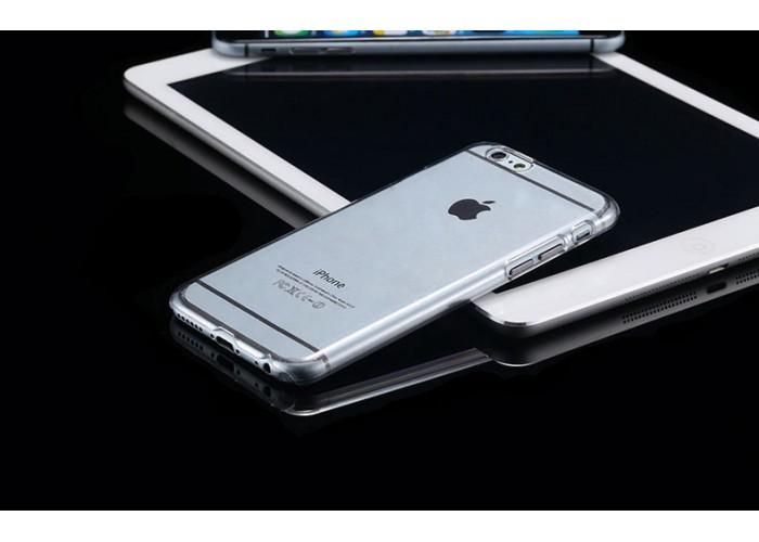 Пластиковый ультратонкий чехол для iPhone 6/6S (прозрачный)