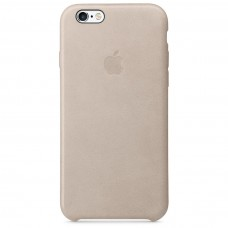 Apple leather case iphone 6 6s rose gray (бежевый) купить Киев Украина - apple iphone 6 leather case