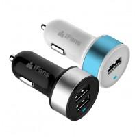 Автомобильное зарядное устройство iFans 2 USB MFI 3.1A