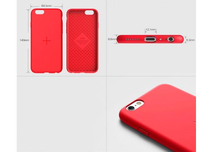 Чехол Araree Airfit для iPhone 6/6s (красный)