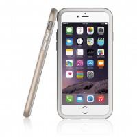 Бампер Araree Hue для iPhone 6/6s (белый + золото)