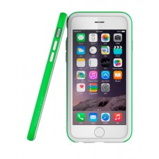 Бампер Araree Hue для iPhone 6/6s (белый + салатовый)