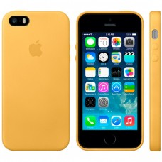 Чехол для iPhone 5/5s Apple Leather Case Gold