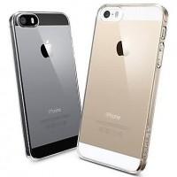 Силиконовый чехол для iРhone 5/5s/SE (прозрачный)