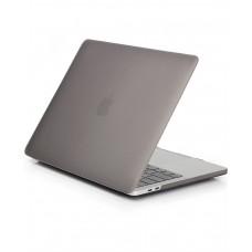 Пластиковый чехол MacBook Pro 15 Soft Touch Matte Grey (2016/2017)