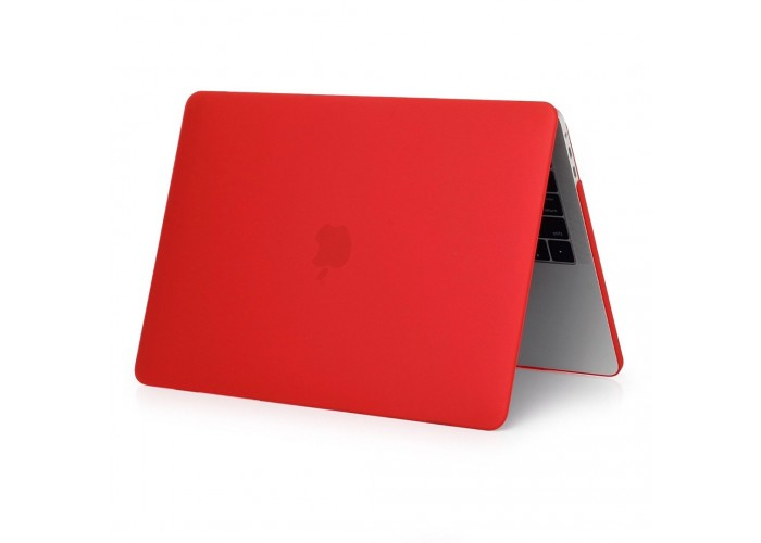 Пластиковый чехол MacBook Pro 15 Soft Touch Matte Red (2016/2017)