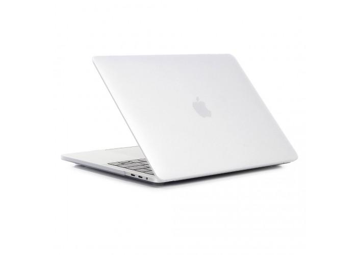 Пластиковый чехол MacBook Pro 13 Soft Touch Matte Transparent (2016/2017)