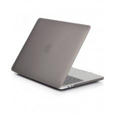 Пластиковый чехол MacBook Pro 13 Soft Touch Matte Grey (2016/2017)