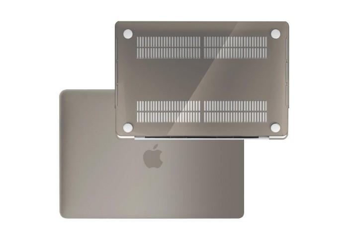 Пластиковый чехол MacBook Pro 13 Soft Touch Matte Grey (2016/2017)