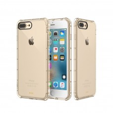 Защитный силиконовый чехол ROCK Protection Case для iPhone 7 Transparent Gold