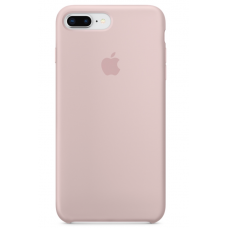 Силиконовый чехол Apple Silicone Case Pink Sand для iPhone 7 plus/8 plus (Реплика)