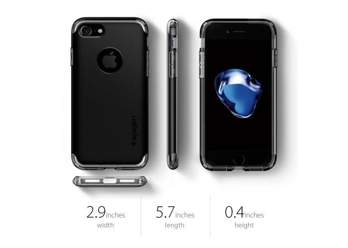 Чехол Spigen Hybrid Armor Black для iPhone 7