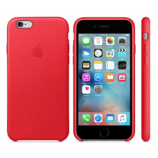 Apple Leather Case Red Original 6 plus/6s plus