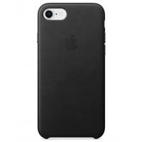 Кожаный чехол Apple Leather Case Black для iPhone 7/iPhone 8 (копия)