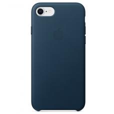 Apple leather case iphone 7 Cosmos Blue (Синий, матовый) купить Киев Украина - apple iphone 7 leather cas